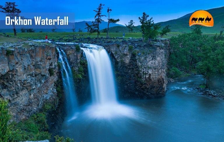 Waterfall Mongolia