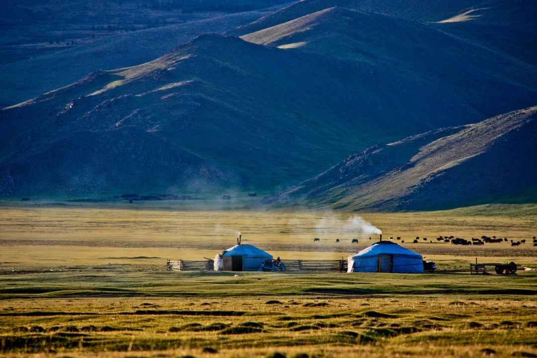Mongolia nature and Yurt