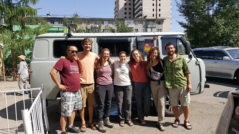 Group tour to Taiga