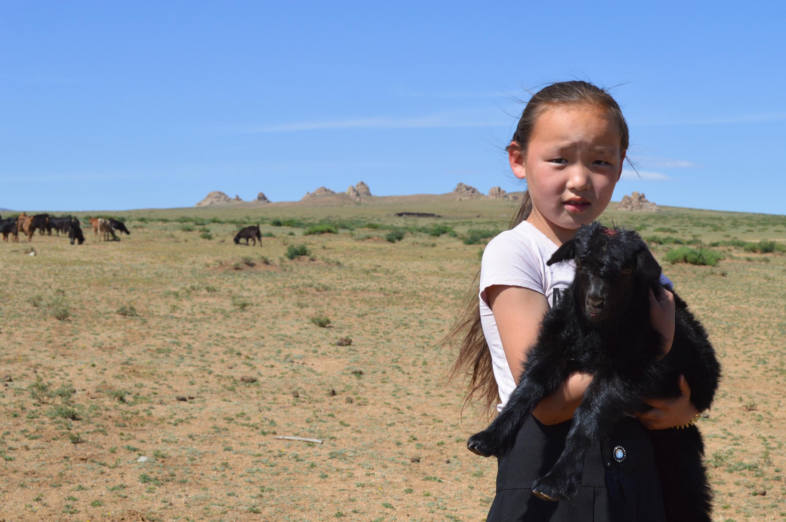 Mongolian cuties