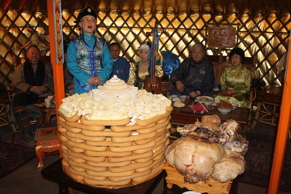 Mongolian second big festival