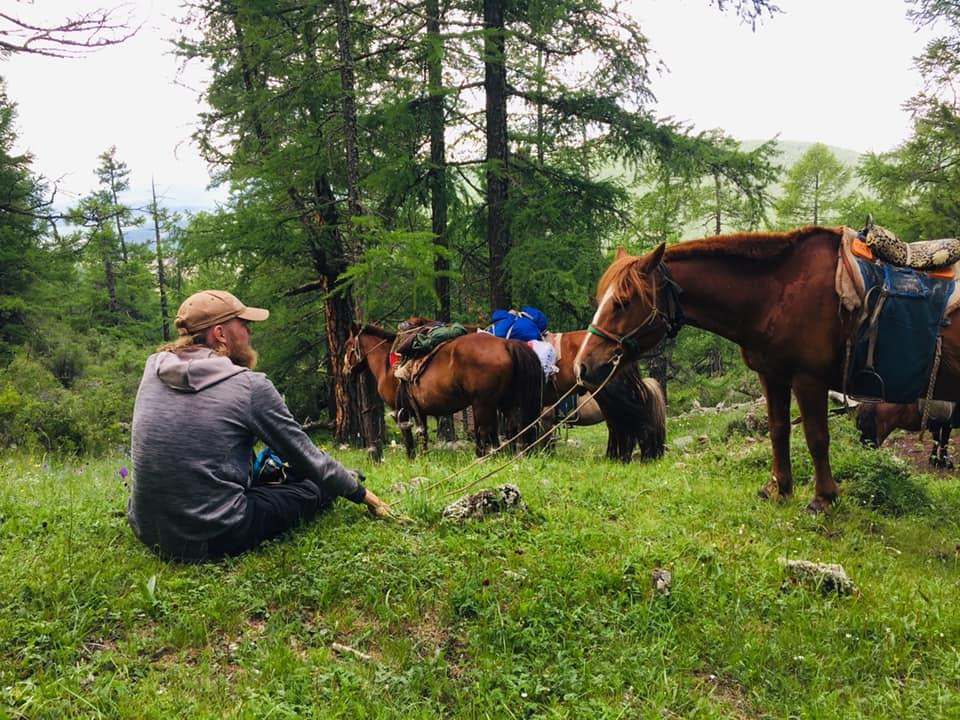 Horse trekking Mongolia