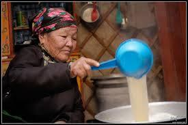Milk tea Mongolia