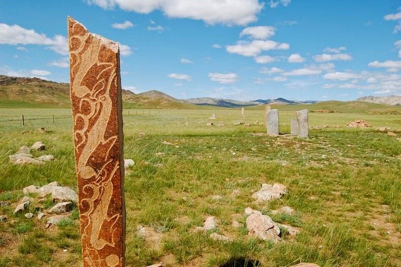 deer stone Mongolia