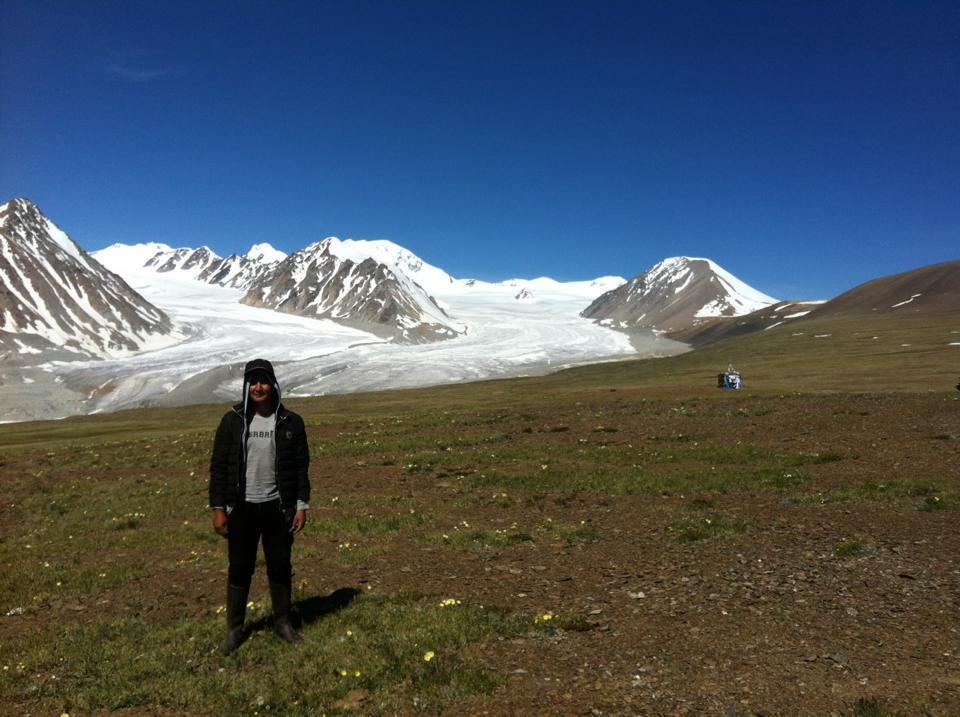 Mongolian highest point